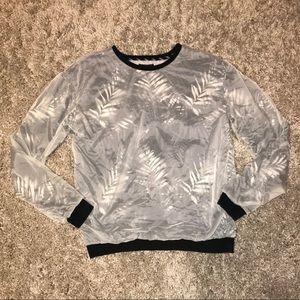Zara Sweater Windbreaker